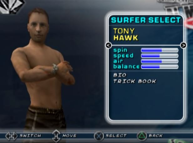 tony hawk kelly slater s pro surfer