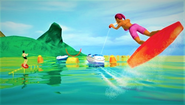water sports pour wii