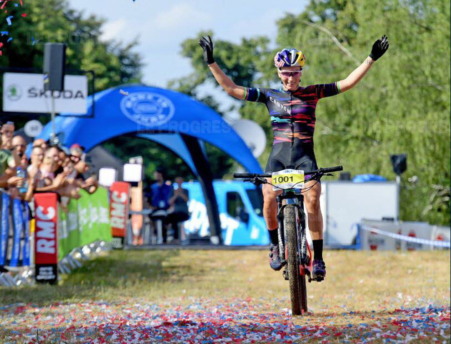 championnats de france de vtt cross-country pauline ferrand