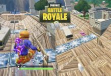 UN SKATEPARK A TILTED TOWERS SUR FORNITE